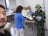 着物講座のユカリ先生とユカさん。