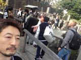 今日の泉岳寺は混んでた。