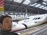 画像は新潟駅。