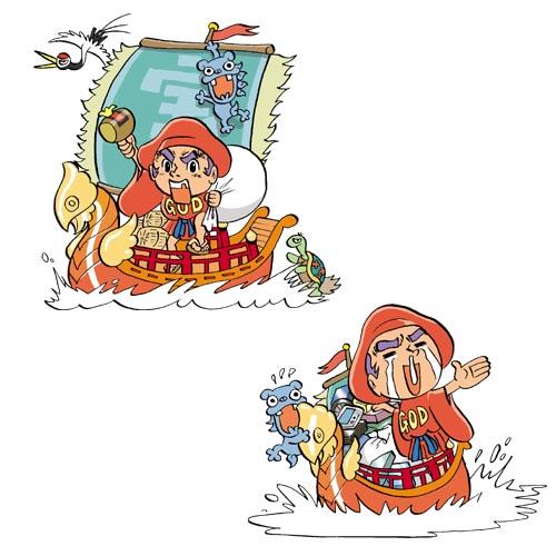 ダイコクくんとコマちゃん-01