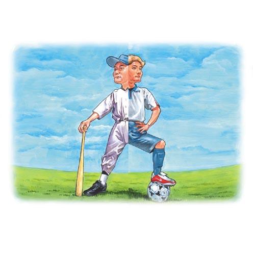 サッカーVS.野球