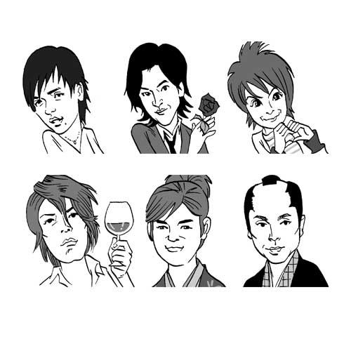 似顔絵-09